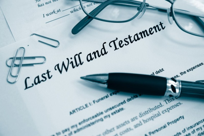wills and trusts papers